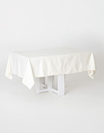 Jacquard cotton tablecloth