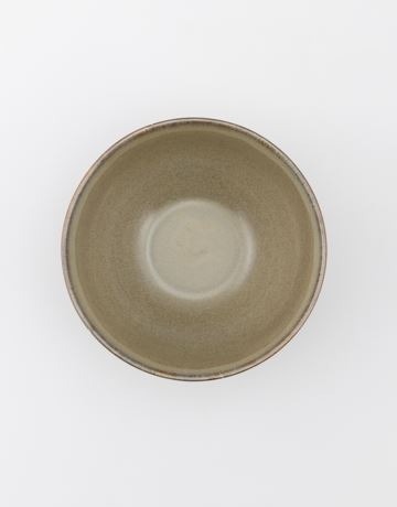 Big stoneware bowl
