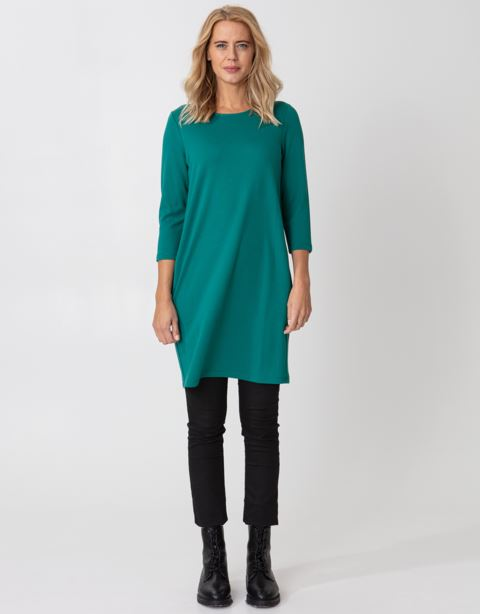 Pocket long sleeve tunic