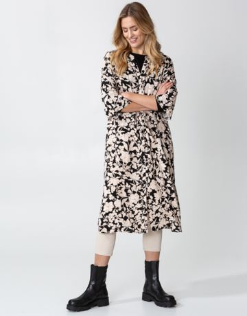 Floral buttoned dress